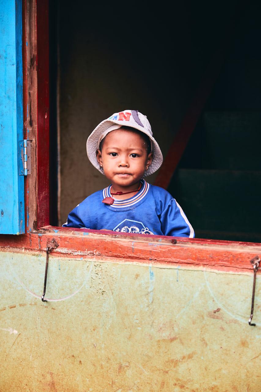 Portrait d'une enfant