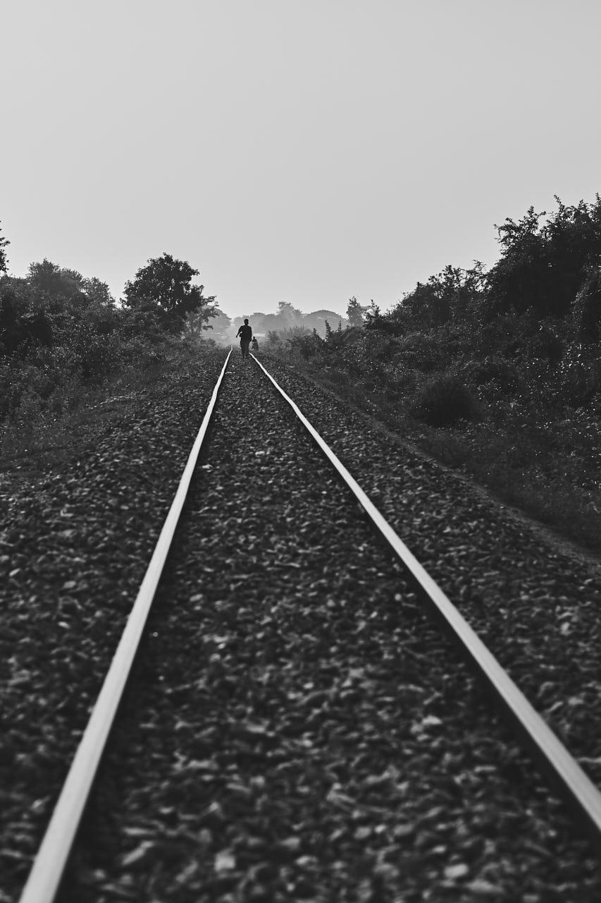 Des rails en NB