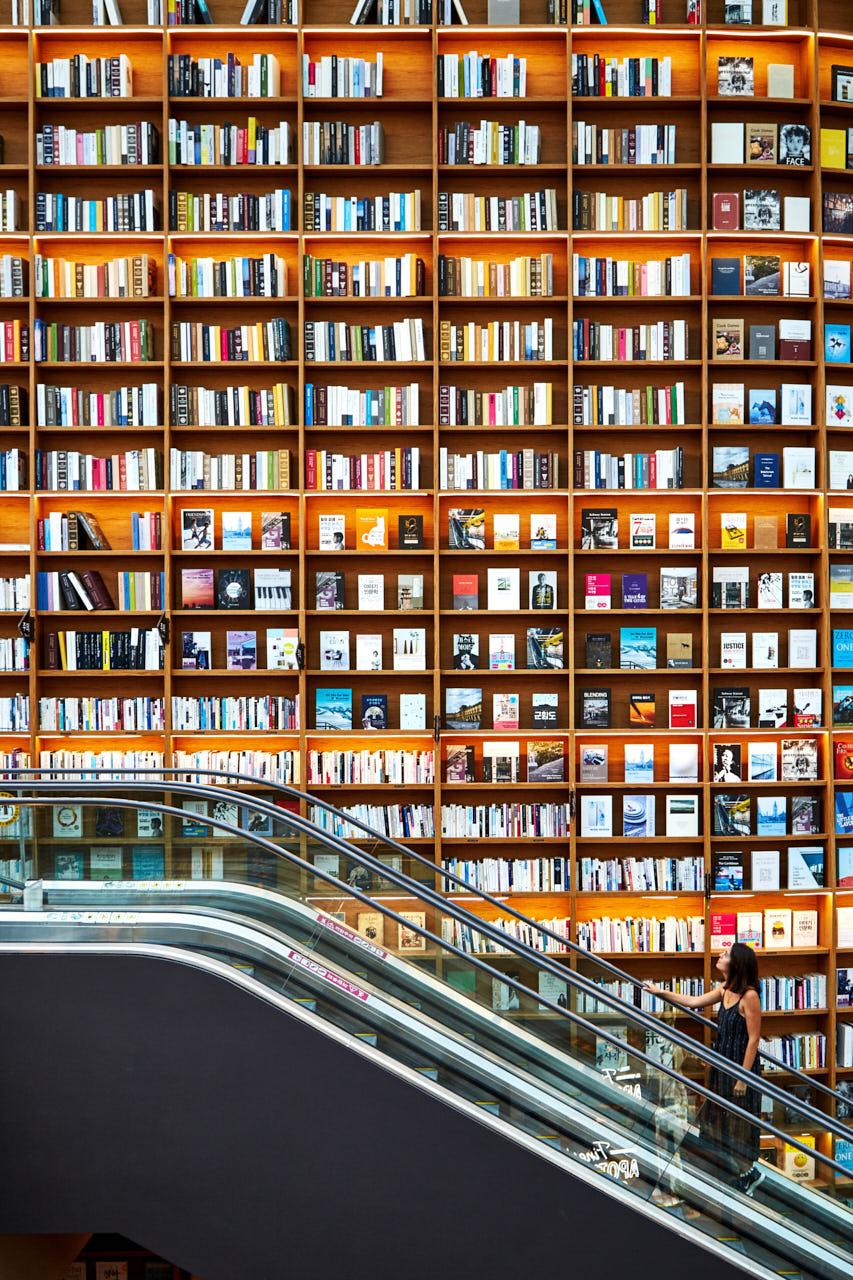 Librairie à Séoul