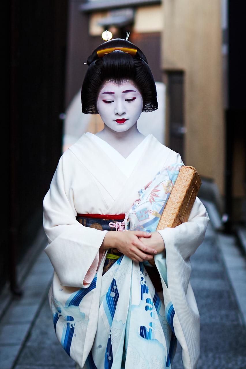 Une geisha