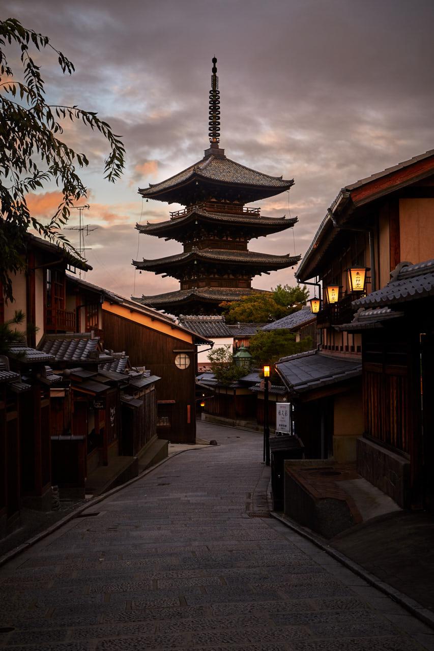 Hōkan-ji pagoda