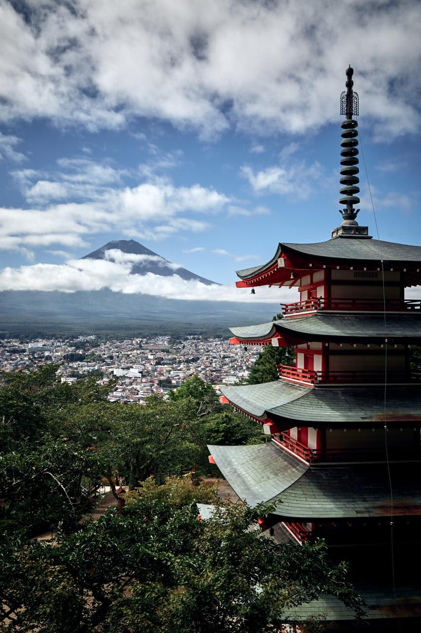 La pagode Chureito