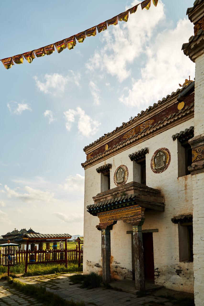 Temple en mongolie