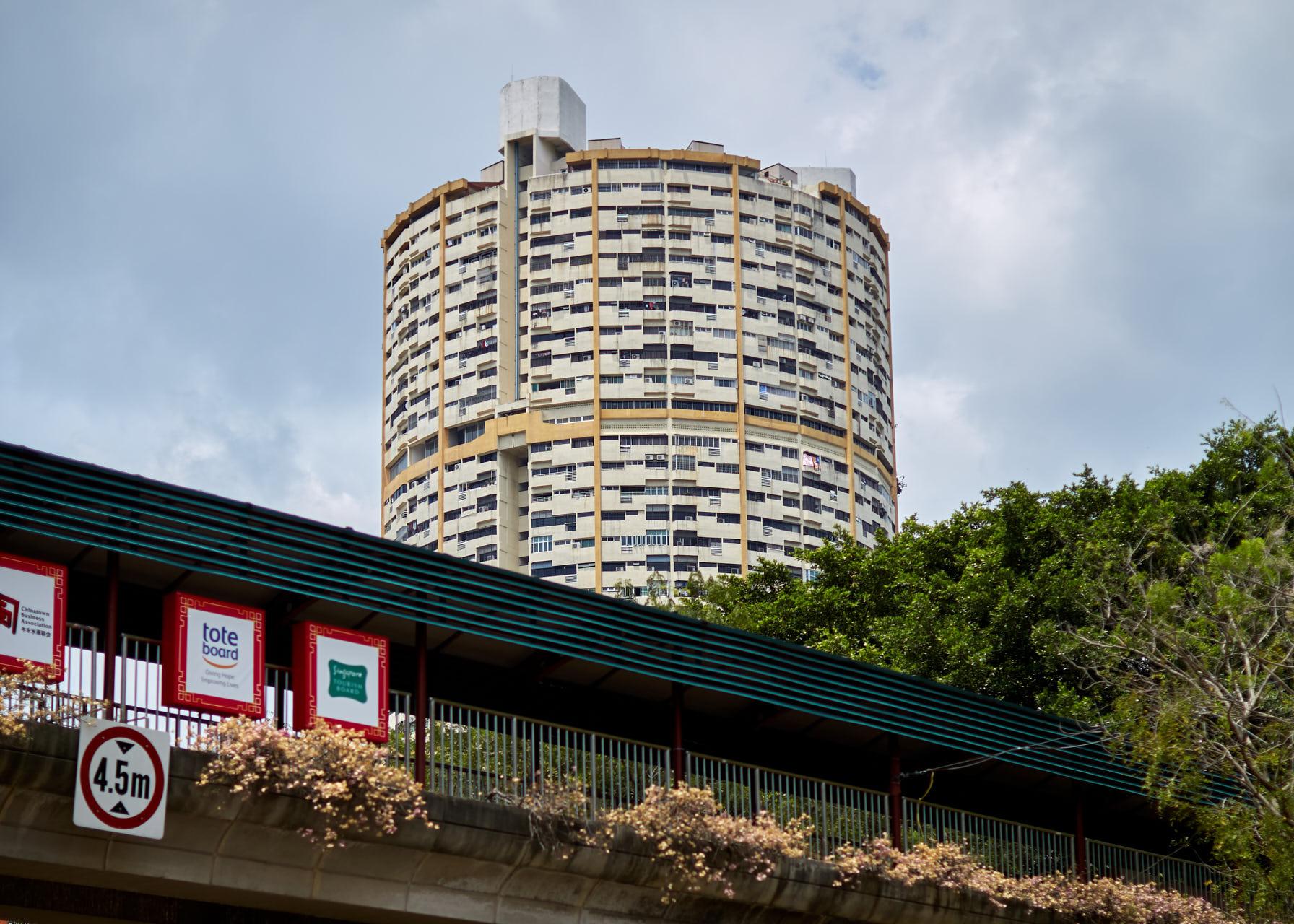 Un bâtiment en U