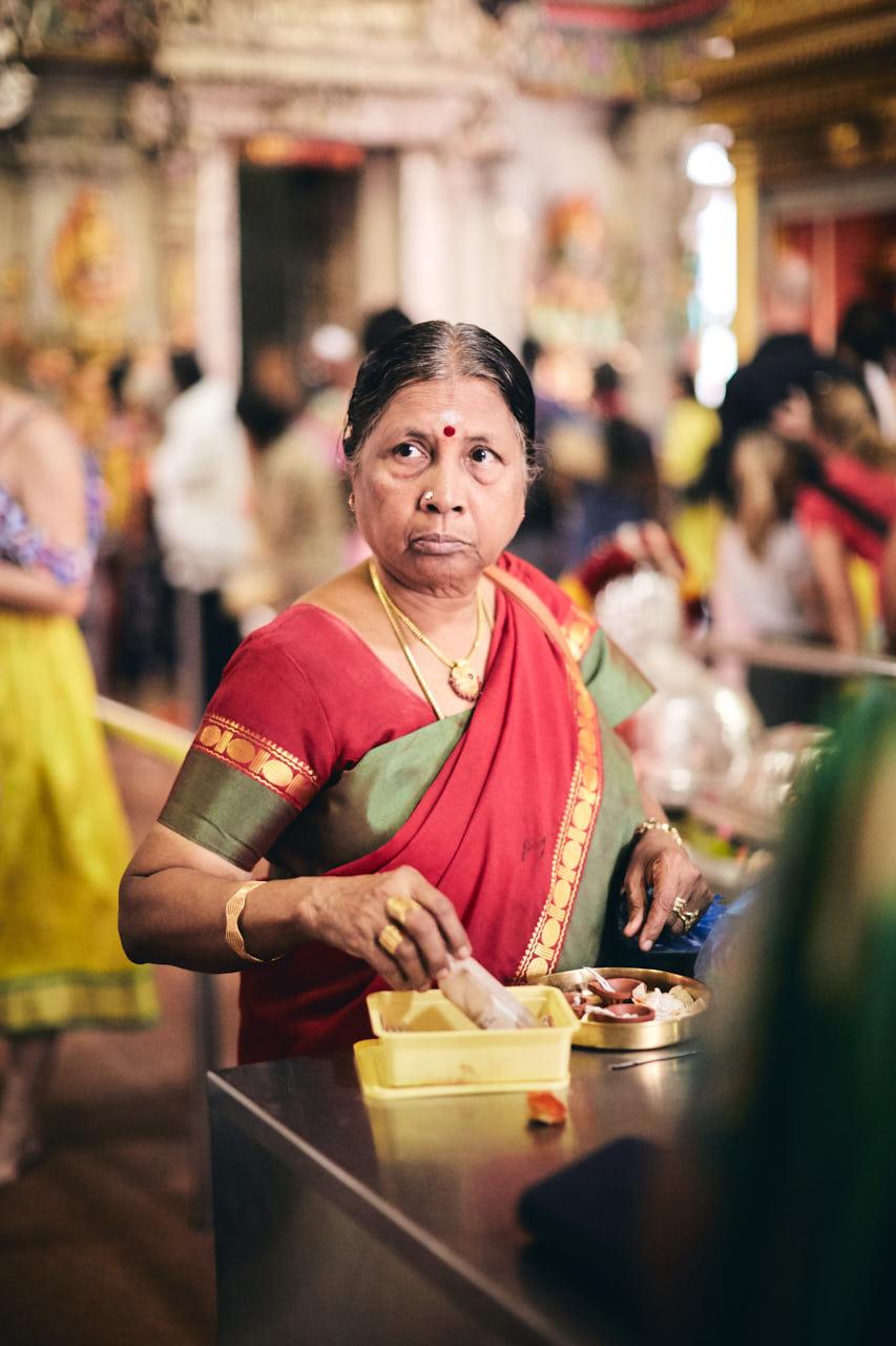 Temple indien à Singapour