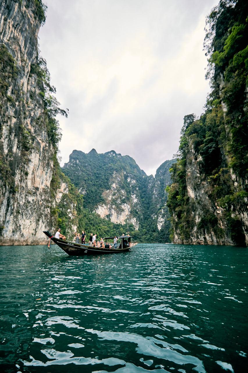 Baie Karstique de Khao Sok