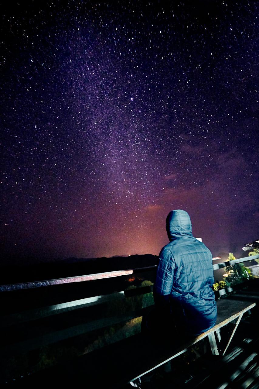 Pluie d'étoile