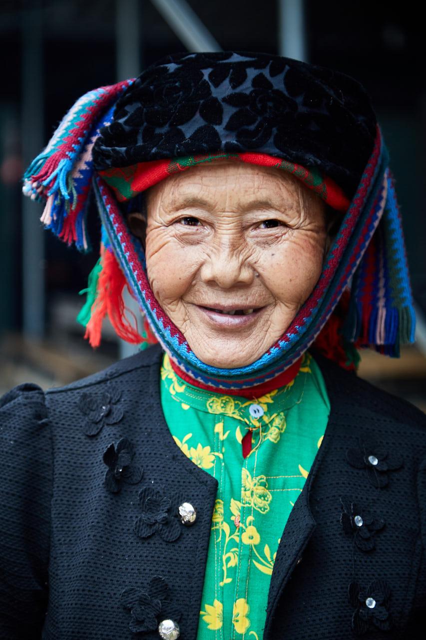 Portrait d'une grand mère