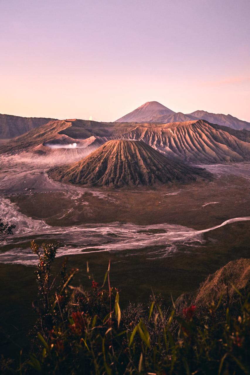 Le mont Bromo