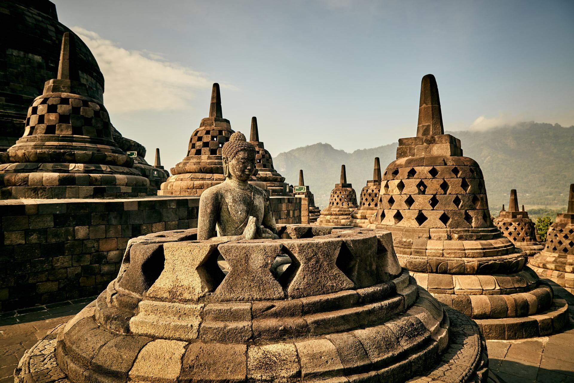 Bouddha de Borobudur