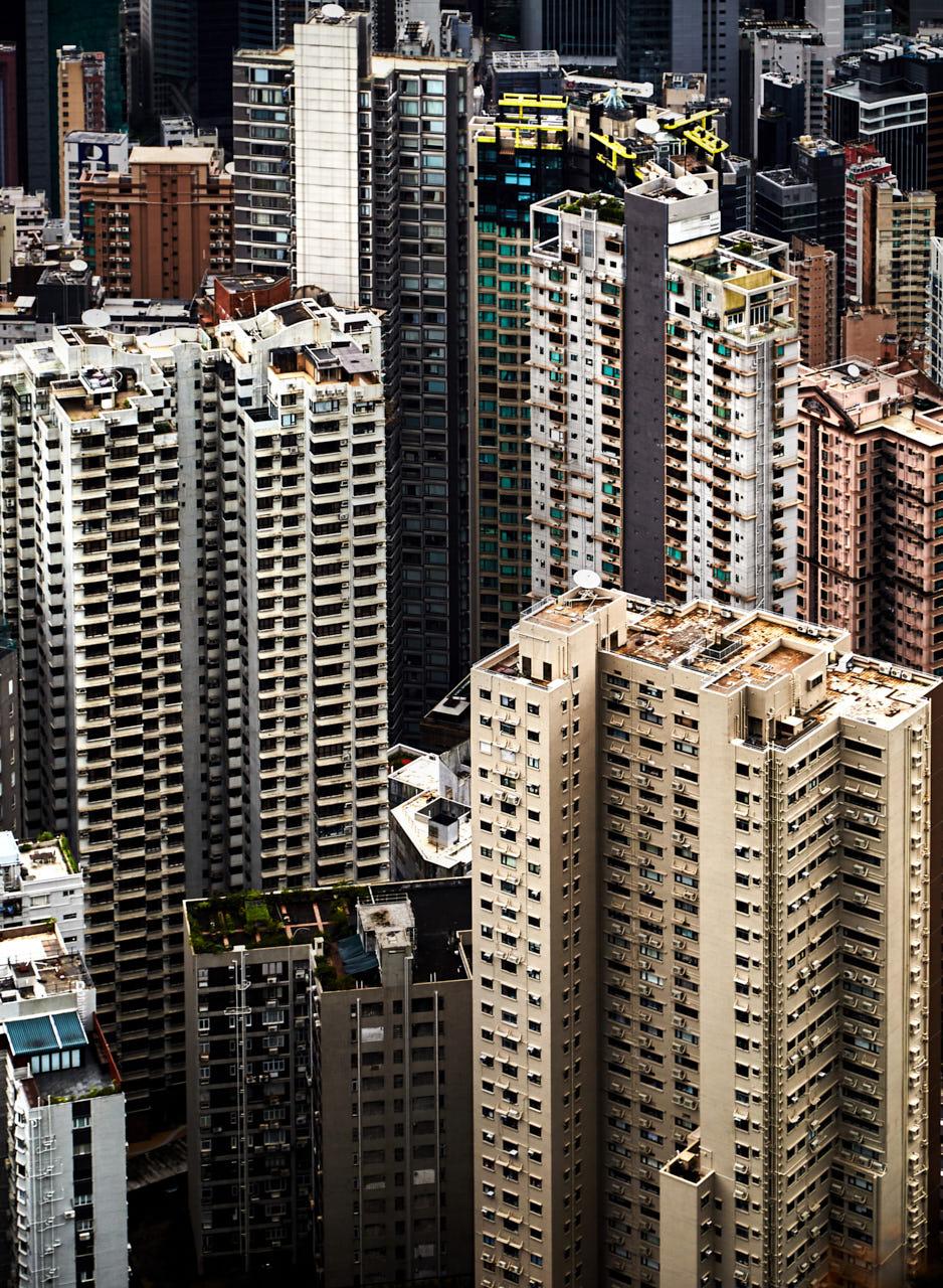 Hong Kong density